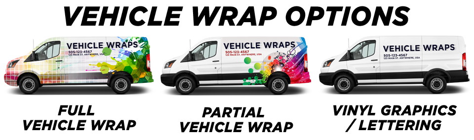 Mobile Marketing with Vehicle Wraps vehicle wrap options