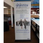 Minneapolis Trade Show Display Specialists banner vinyl tradeshow retractable indoor 150x150