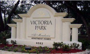 Address Signs Monument Foam 300x183